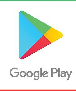 Google Play Logo Card